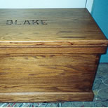 Custom Toybox With Child's Name
