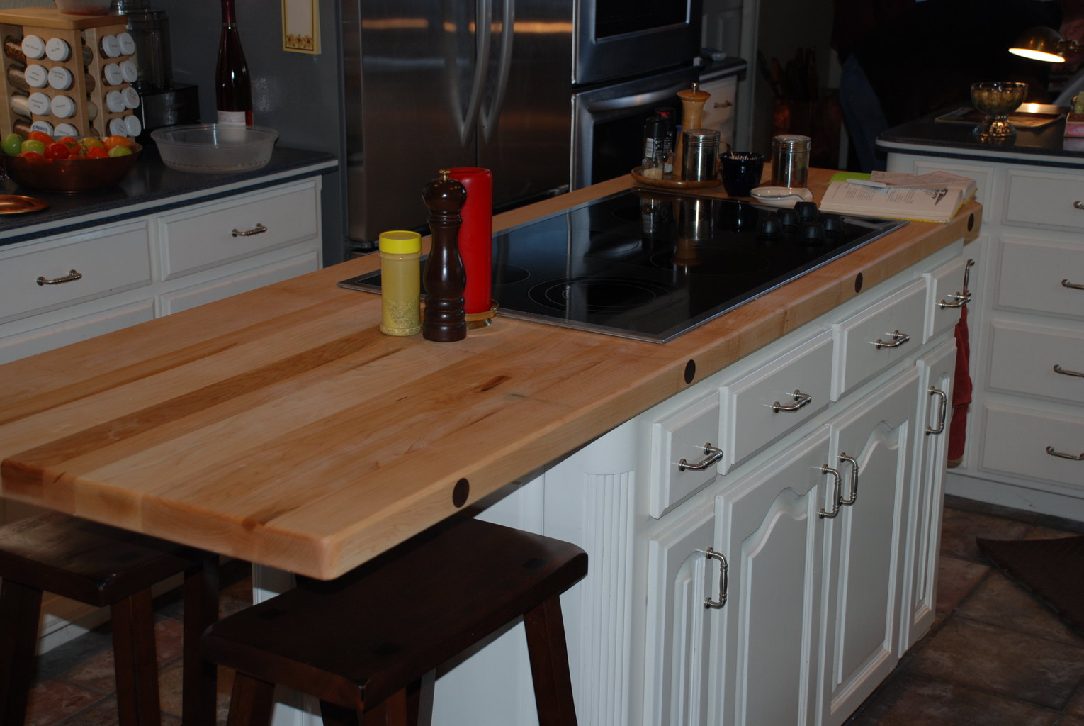 Maple Kitchen Island Top