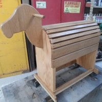 Child's Saddle Stand