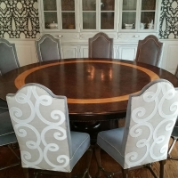 Commissioned Round Dining Table
