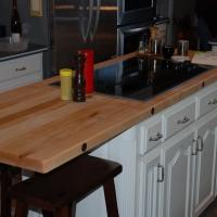 Maple Kitchen Island Top