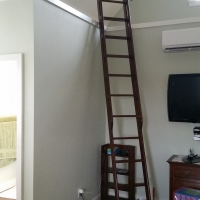 Solid Oak Loft Ladder