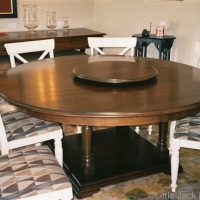 Lyptus Wood Dining Table