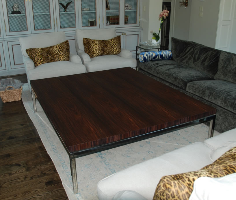 Bespoke Rosewood Coffee Table