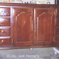 Dresser After Being Repaired