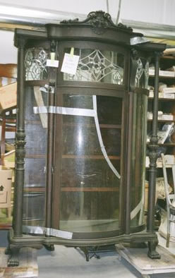 1800's China Cabinet Before