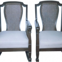 Two Victorian Cane Chairs - After