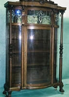 1800's China Cabinet After