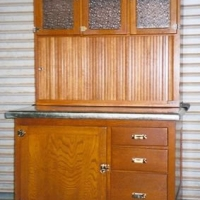 Antique Baking Hutch - After