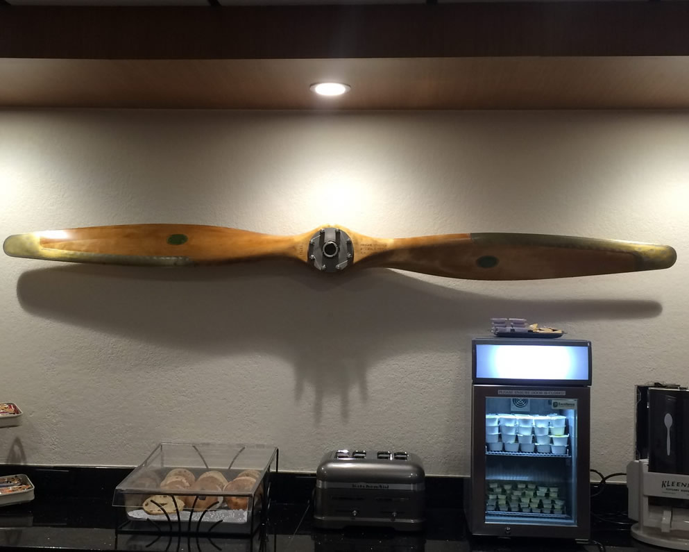 Antique Plane Propeller After