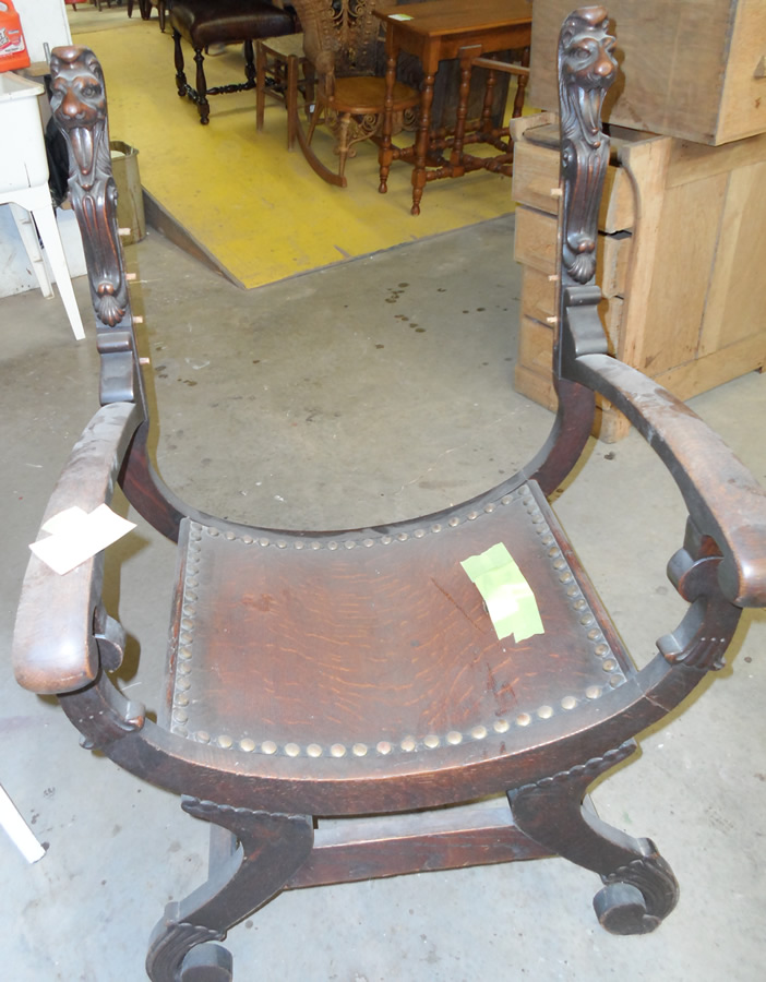 """Gargoyle"" Chair - Before"